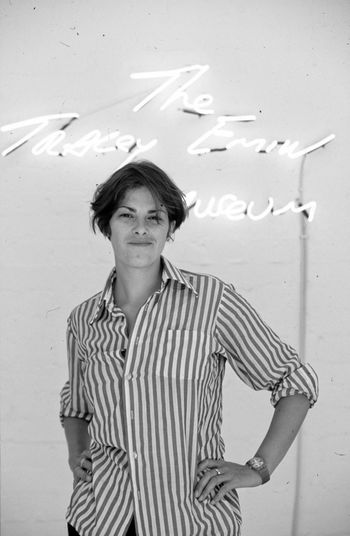 Tracy Emin Portrait Paul Salmon Artist Famous British