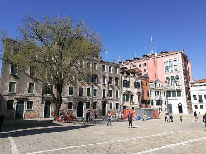 Venice, Italy Architecture Plant Tree Sky City Built Structure Sunny Street Campo Shadow House EyeEmNewHere