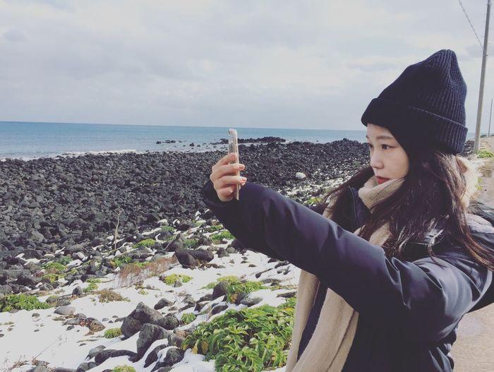 Jeju JEJU ISLAND  Wintertime Photoshoot