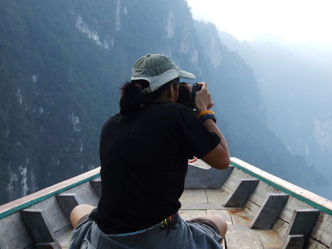 Leisure Activity Mountain Range One Person Photographing Real People Travel Destinations