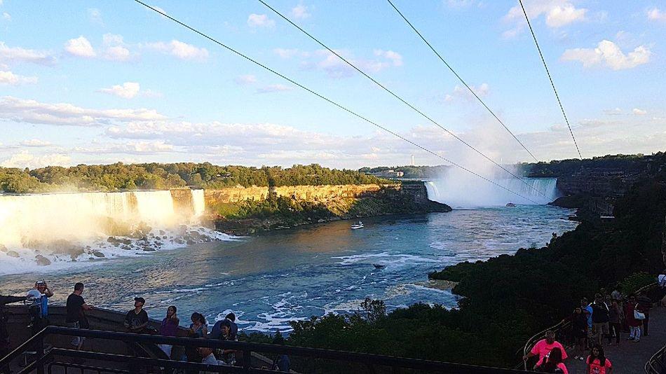 Nigra Fall  Water Landscape Canada Falls 🌊