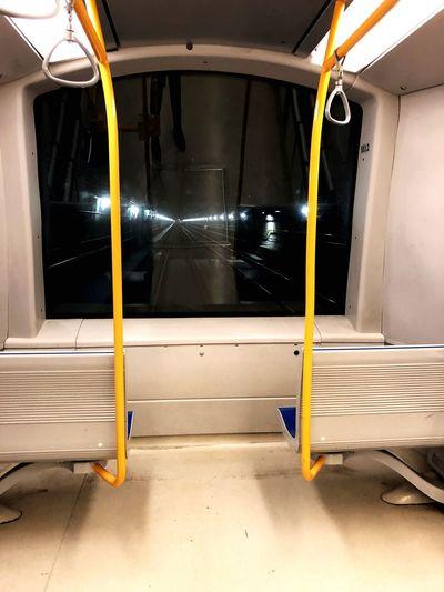 No driver! EyeEm Selects Architecture Transportation No People Mode Of Transportation Illuminated Rail Transportation