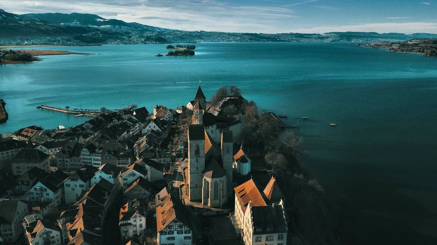 Schloss Castel Swiss Schweiz Zürichsee Zürisee Rapperswil Schloss Rapperswil Drone Photography Mavicpro Droneoftheday Happy New Year Sea Nautical Vessel Mountain Water Harbor Ship Outdoors Nature Sky Architecture Travel Destinations Built Structure Building Exterior Horizon Over Water Tall Ship City Sailing Ship EyeEmNewHere