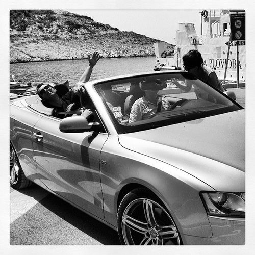 Feel the wind.;)! Cabrio Sun Sportcars Epictime Dontgiveafuckmood Summer Tagsforlikes