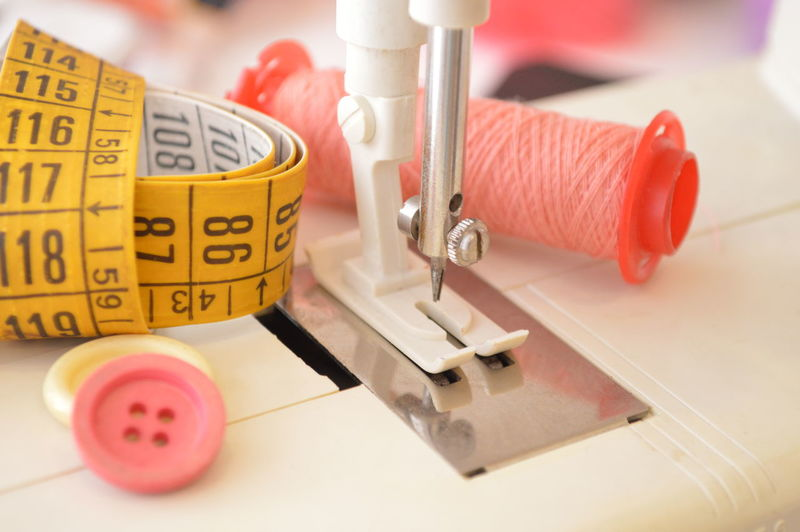 sewing machine cotton button tailoring Close-up Healthcare And Medicine Research No People Indoors  Needle Science Equipment Group Of Objects Technology Occupation