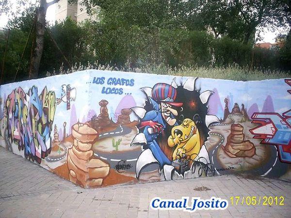 Serie 4/6. Graffity Fuenlabrada Madrid Españoles Y Sus Fotos