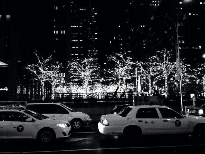 Your average NY winter. Newyorkcity Christmastime Christmas Lights Beautiful Day Nightphotography Decentmood Moody Relaxing Hope U Like It