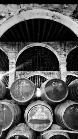 No People Indoors  Winery Bodegas Jerez De La Frontera EyeEm Best Shots SPAIN Eye4photography  Good Times Holidays ☀ Black & White Blackandwhite Contrast