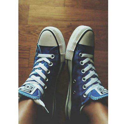 Blue love 💙 Converseallstar Newshoes Blue Love Favouritecolour Gift IAmInLove Vscocam VSCO Instalifogreece 👟