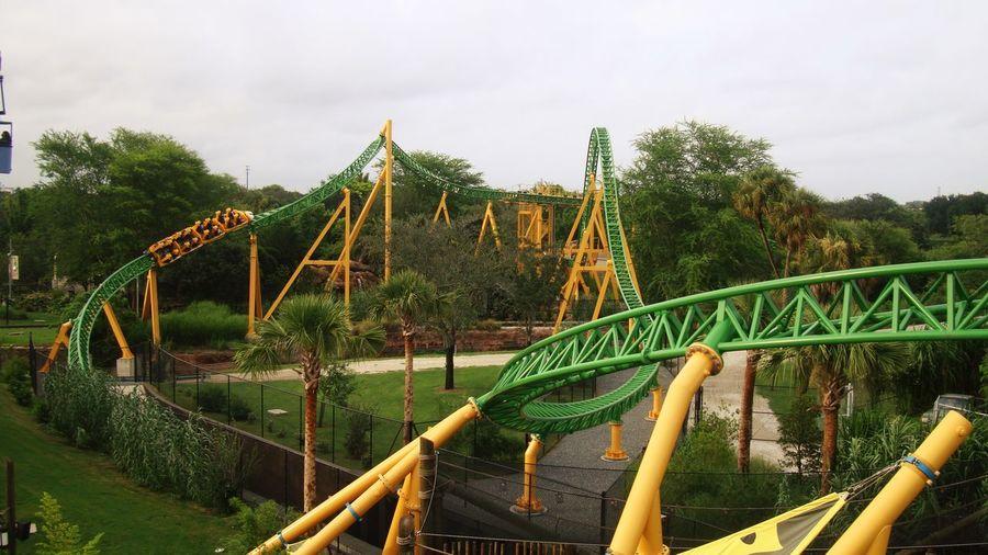 Orlando Orlando Florida USA USAtrip Fun Popular Funtimes Happy Happiness Happy People Amusement Parks Amusement Park Park Arquitecture Roller Coaster Design Garden Nature