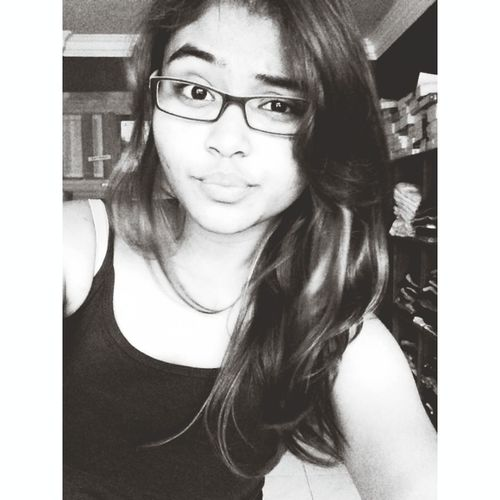 not ready for class tomorrow and yeah this is how i look with my glasses.