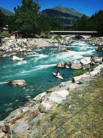 I Want Ginger's Book! Kayaking Alpes River