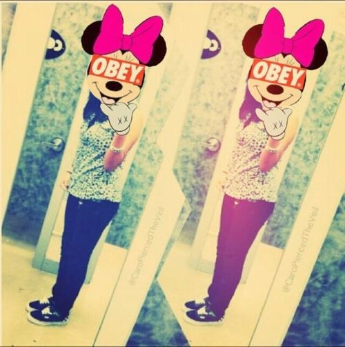 Minnie Mouse Swag OBEY ObsessiveEdits