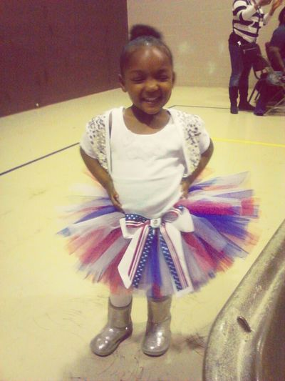 My Lil Sis At Tryouts!!!!