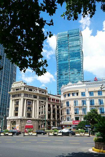 Architecture City Building Exterior Travel Destinations Shanghai, China