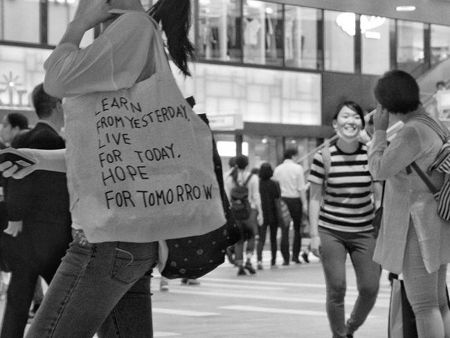 People Snapshot Streetphotography_bw B&w Street Photography Blackandwhite City Street CityWalk On The Road Station Night Nightshot Enjoying Life at Kichijoji 吉祥寺 , Tokyo Japan