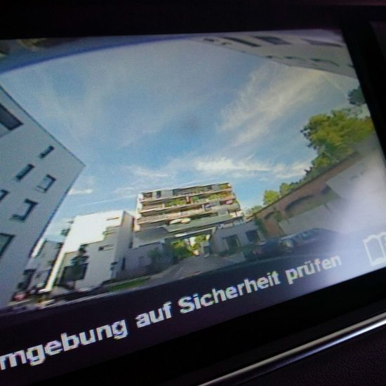 Checksafety Safety Landrover  Rangeroversport Casselfornia Kassel Vordererwesten Samuelbeckett Minimalism Architecture Rear View Rearcamera