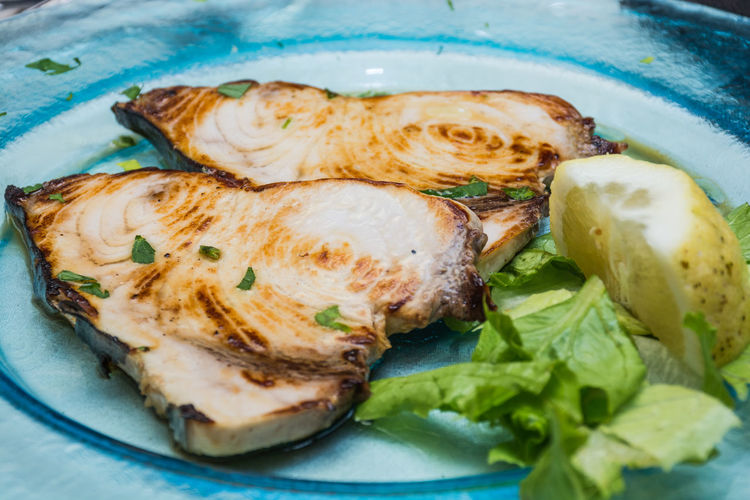Swordfish Swordfish Tartare Close-up Day Food Food And Drink Freshness Healthy Eating Indoors  No People Plate Ready-to-eat Seafood Serving Size Swordfish Dish Swordfishcarpaccio Swordfishsteak