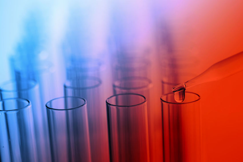 Analyzing Biology Biotechnology Chemistry Close-up Education Equipment Genetic Research Glass - Material Healthcare And Medicine Indoors  Laboratory No People Research Science Scientific Experiment Selective Focus Still Life Technology Test Tube