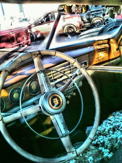 Behind the steering wheel of the past in Toronto Behind The Steering Wheel Of The Past