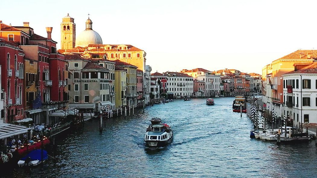 Travel Destinations Gondola - Traditional Boat Tourism Vacations Nautical Vessel Outdoors Gondolier Sky Day No People Urban Skyline Cityscape Architecture Building Exterior City