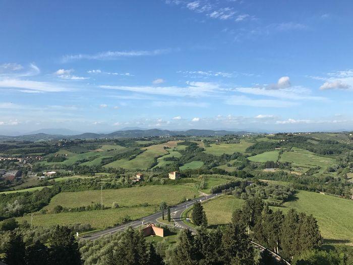 Florence countryside Florence Countryside Field Sky Rural Scene Scenics Landscape