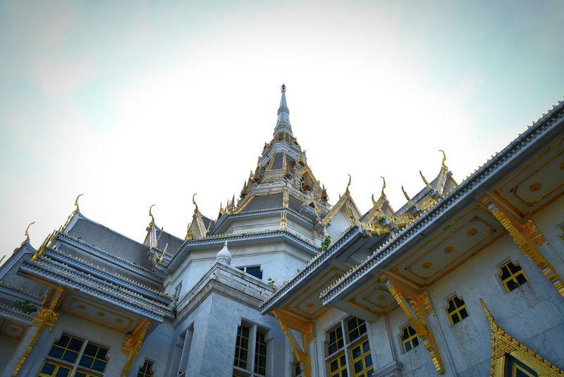 Wat Sothonwararam Chachoengsao Thailand Temple