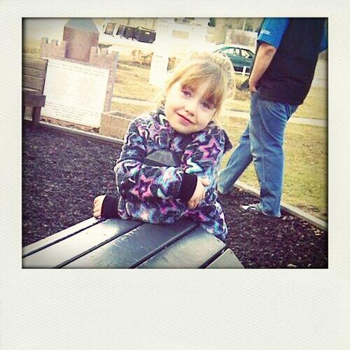 sara at park