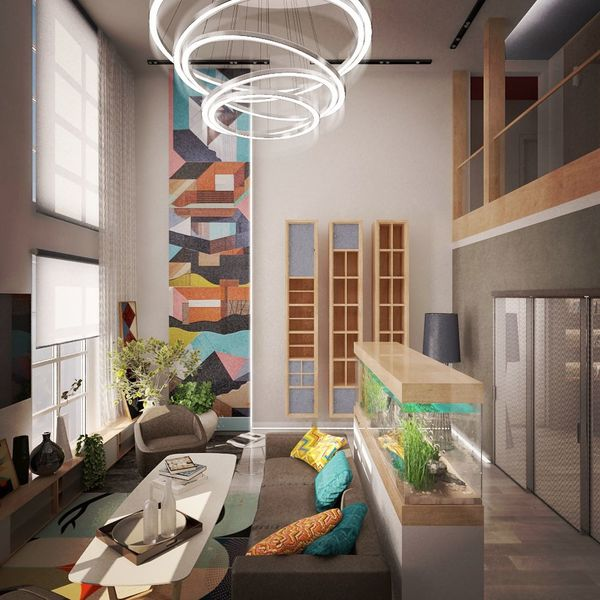 Design Interior Design дизайн 3d Image