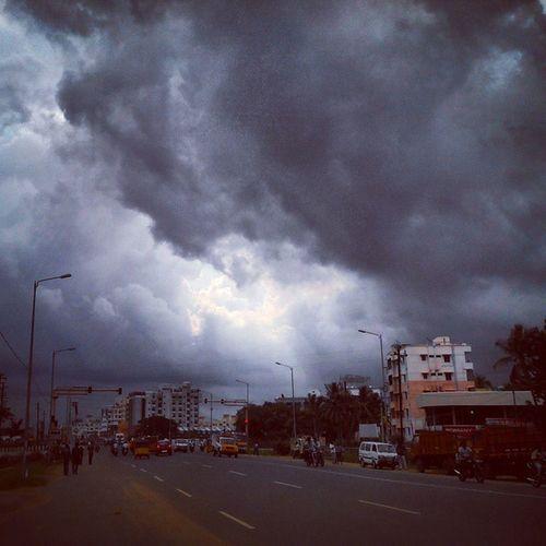 Awesome Of The Aromale Weather In Madurai clouds cloud cloudporn weather sky skyporn cloudy instacloud nature beautiful overcast instasky epicsky crazyclouds rain raining rainyday cloudy photooftheday rainyweather instarain Madurai Tamilnadu India