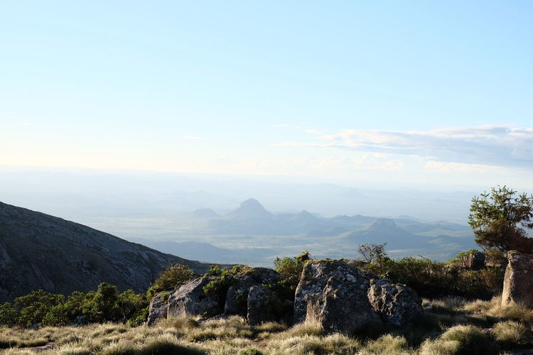This is the view from Worlds View, Nyanga, Zimbabwe. Beauty In Nature Day Horizon Over Land Idyllic Landscape Mountain Mountain Range Nature No People Non-urban Scene Outdoors Scenics Sky Tranquil Scene Tranquility