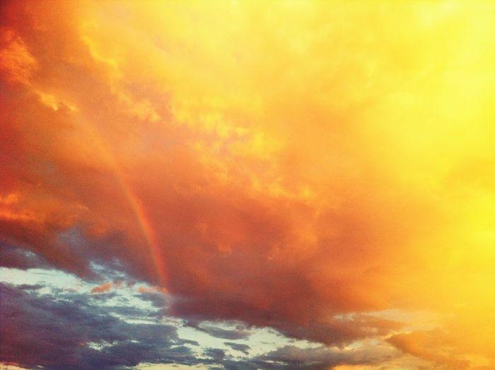 Sunset&rainbow