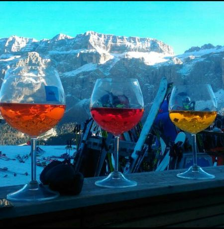 Cocktail On The Snow Alpes Perspectives On Nature