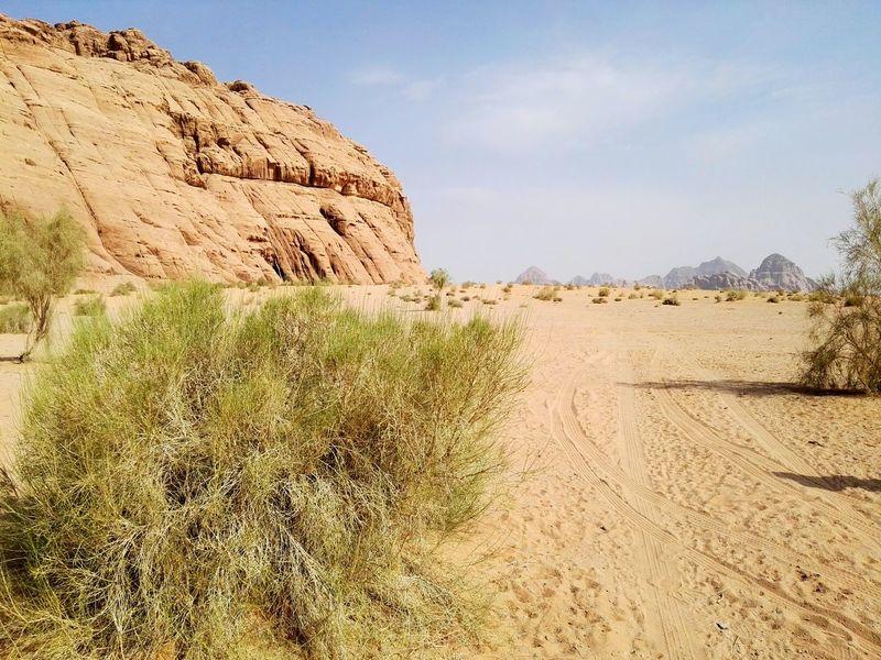 Smartphone Photography Desert Landscape Hills And Valleys Wadi Rum National Park, Jordan Desert Desert Beauty