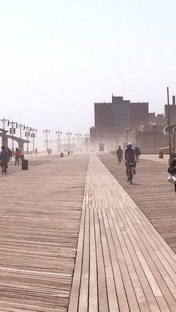 Coney Island / Brooklyn NY Boardwalk Enjoying Life NYC Coney Island