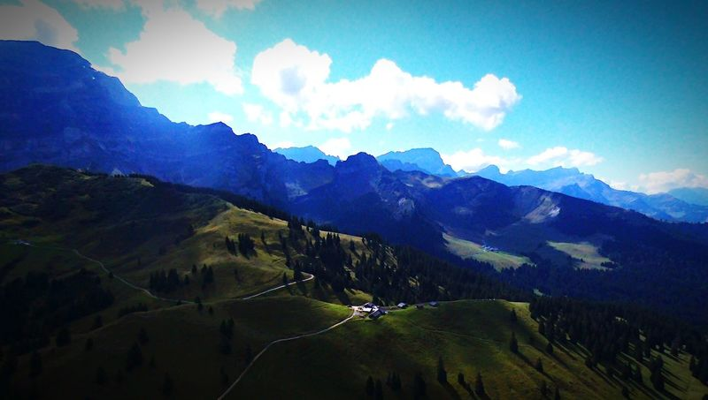 Col de la Croix EyeEmSwiss The Places I've Been Today Switzerland Parrot Bebop Schweiz Pictureoftheday Picoftheday Taking Photos Paradise