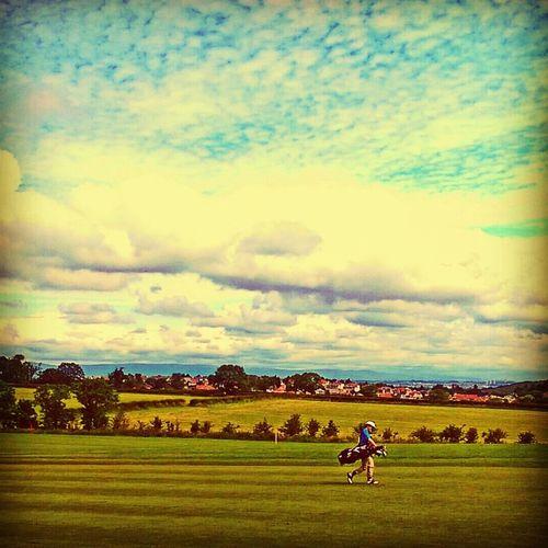 Golfing Clouds Cloudscape Golf Course Golf Landscape