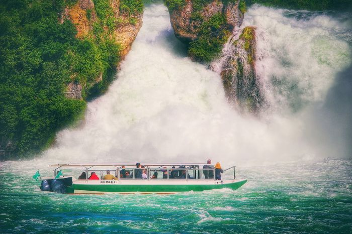 Waterfront Waterfall Water_collection Water Boat Landscape Landscape_Collection Landscape_photography Rheinfall Rhinefalls Landscape #Nature #photography Hello World Enjoying Life Taking Photos