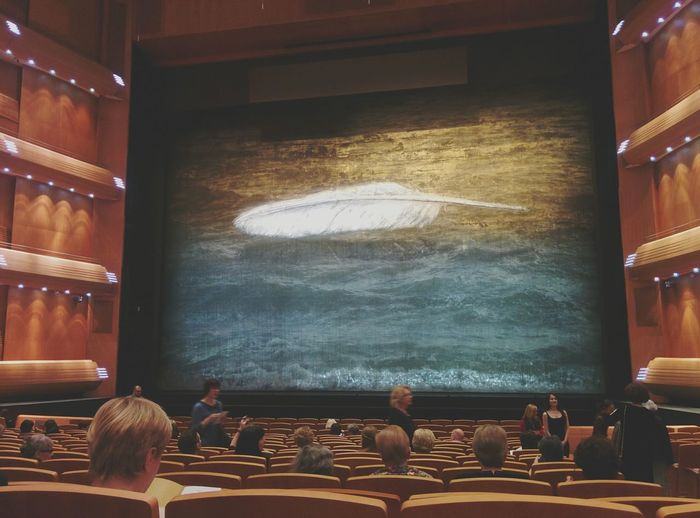 Indoors  Sitting People Audience Large Group Of People Adult Science Young Adult Adults Only Day Theater Beginnings Mariinsky Theatre Saint Petersburg Culture Classic Ballett Live Music Show EyeEm Best Shots Real People Leisure Activity Indoors
