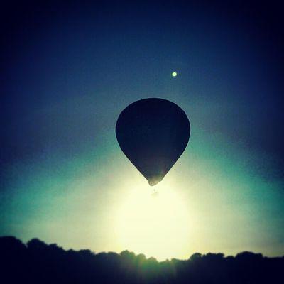 Up in the air. Balloons Balloon Heaven Hotairballoon