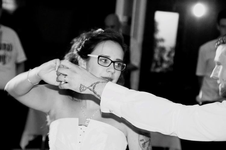Hochzeitstanz White Black And White Blackandwhite Hochzeitsfotografie Braut Married Marriage  Hochzeit Just Married Dance Dancing Glasses Eyeglasses  Women Real People Adult Portrait Young Adult A New Perspective On Life Human Connection My Best Photo International Women's Day 2019 International Women's Day 2019