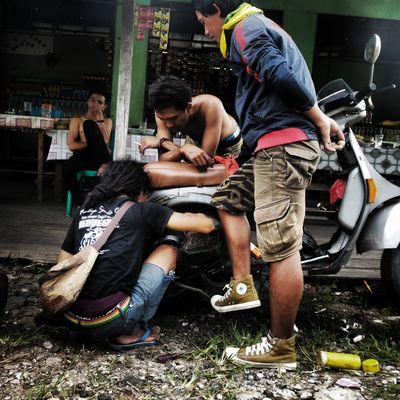 .mumet.. Enjoying Life Hello World Streetphotography Palangka Raya