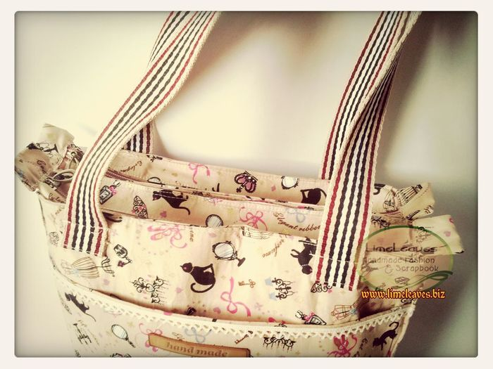 two cabins bag made by me Handmade Handmadebag Craft
