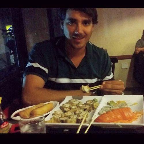 Dia de GULA japonesa! FoodJapa Gula Sushi Dborest Vamoqvamo✌