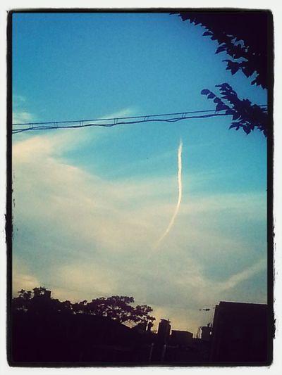 enjoying the sky