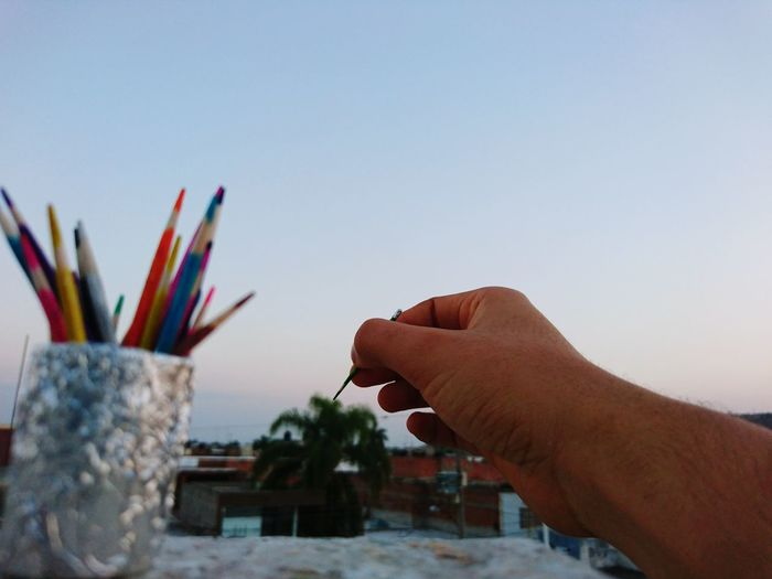Panting the city Human Hand Human Body Part Outdoors Multi Colored Sky Close-up Hand Mini Colors Handmade Mini Colors Painting Tree XPERIA Color Xperiaphotography XperiaZ5 Xperia Z5 Sony Xperia Day Live For The Story EyeEmNewHere Place Of Heart Sommergefühle EyeEm Selects Breathing Space The Week On EyeEm Investing In Quality Of Life Mix Yourself A Good Time Rethink Things Inner Power My Best Photo