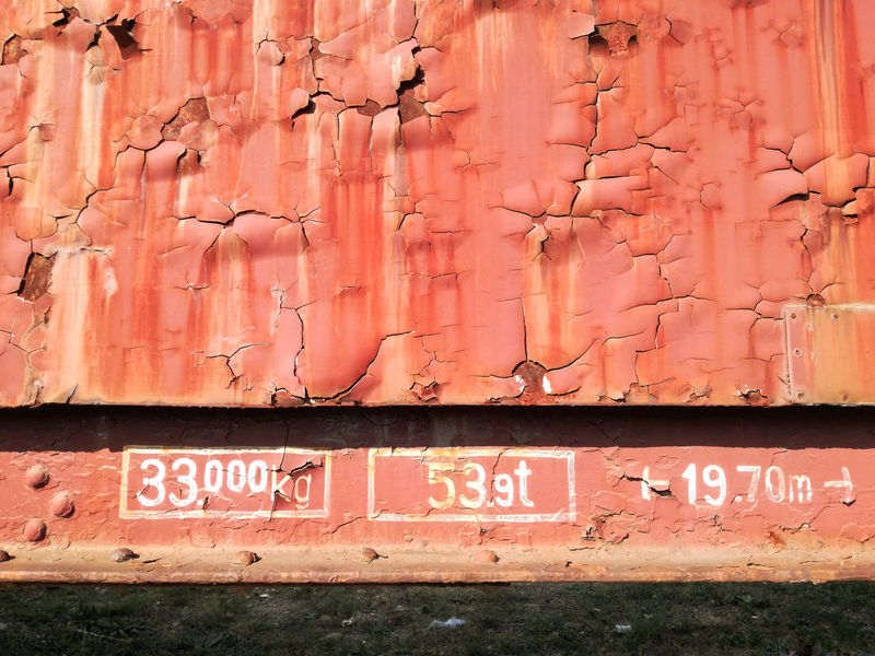 old railway car Art Is Everywhere ArtWork Industry Old-fashioned Orange Paint Pattern Pieces Pattern, Texture, Shape And Form Rust Architecture Art Close-up Communication Crack Cracked Day No People Old Old Paint Outdoors Painting Pattern Railway Rusty Text