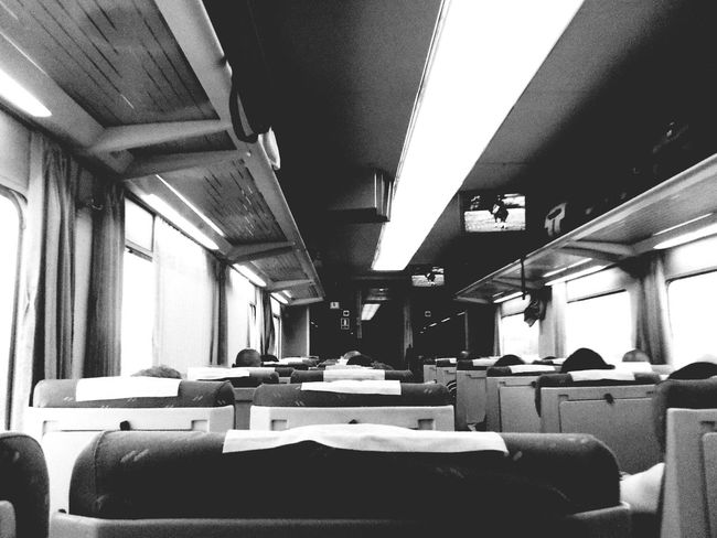 Renfe Train Traveling Where Are You Going?
