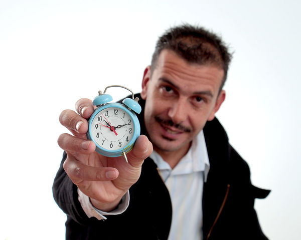 man with mustaches. ,movember concept Adult Camera Mambo Man Medicine Movember Awareness Clock Concept Handsome Health And Medicine Healthy Eating Healthy Lifestyle Movement Mustaches Mustaches. Prostate Cancer Smile Studio Shot