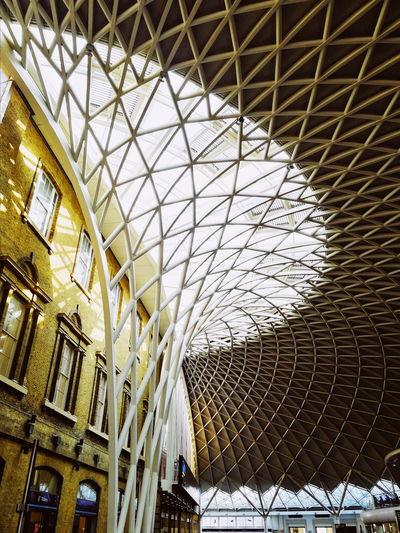 London United Kingdom Uk King's Cross, St Pancras International King's Cross Indoors  Interior City Modern Architecture Built Structure